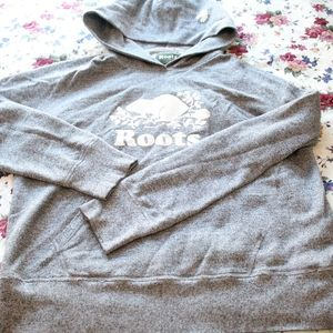 salt & pepper Roots hoodie